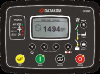D-500 GSM Контроллер для генератора (RS485, Ethernet, GSM, подогрев дисплея)