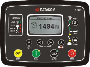 D-500 STD Контроллер для генератора (RS-485, Ethernet)