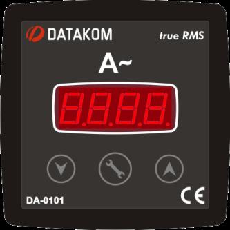 DA-0101 амперметр, 1-фазный 96х96