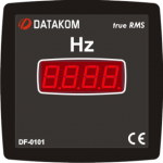 DF-0101 частотомер, 1-фазный, 96x96