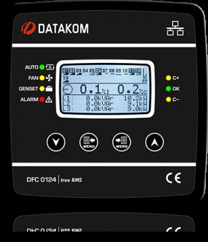 DFC-0124 ККМ, 128x64 Ч/Б дисп, 144х144мм, 12 шагов+RS-485+SVC
