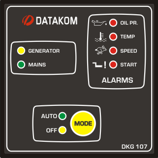DKG-107 Автозапуск генератора