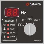 DKG-112 Ручной запуск генератора (12V energize to start)