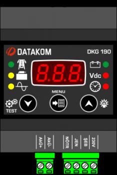 DKG-190 Контроль заряда аккумулятора