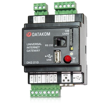 DKG-210-A1 Ethernet шлюз, AC