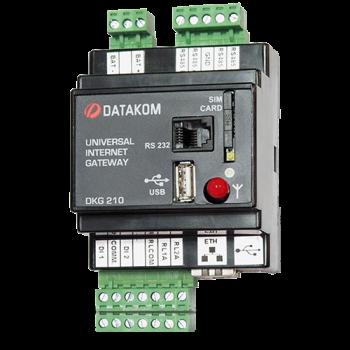 DKG-210-D2 RS-232 Ethernet шлюз, DC