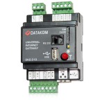 DKG-210-D3 GPRS+Ethernet шлюз, DC