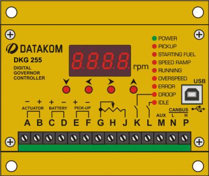 DKG-255 Цифровой регулятор оборотов