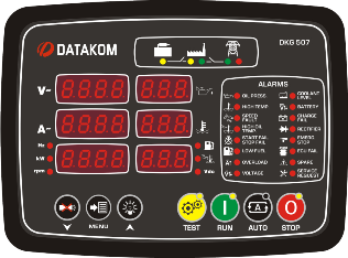 DKG-507 MPU Автозапуск генератора