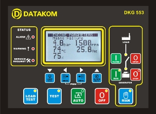DKG-553 Автозапуск генератора