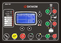 DKG-727 Mains controller for Multi genset cont