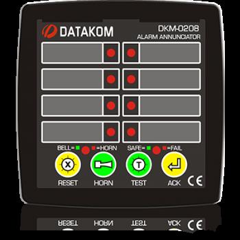 DKM-0208 Сигнализатор аварий, 8 каналов, AC