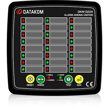 DKM-0224 Сигнализатор аварий, 24 канала, AC