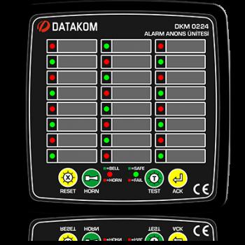 DKM-0224 Сигнализатор аварий, 24 канала, DC