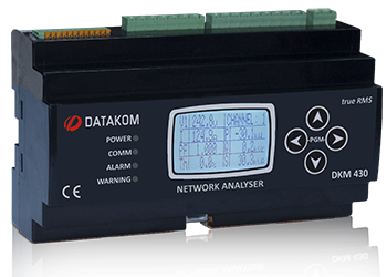 "DKM-430 Анализатор, 30 входов ТТ, 1.9"" LCD, RS-485, USB/Device, 2-вх, 2-вых, DC"