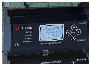 """DKM-430 Анализатор, 30 входов ТТ, 1.9"""" LCD, RS-485, USB/Device, 2-вх, 2-вых, GPRS, DC"""