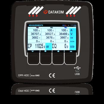 DPR-400 Реле защиты от перегрузки по току
