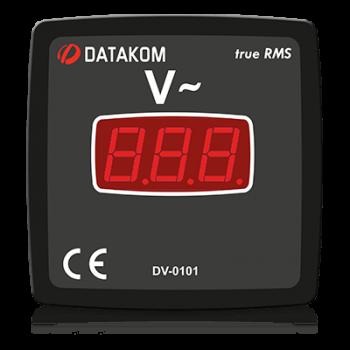 DV-0101 вольтметр, 1-фазный, изолированное питание, 72x72