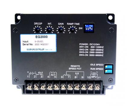 EG2000 (PER2000)  Электронный регулятор оборотов