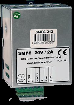 SMPS-242 Din Rail зарядное устройство (24В, 2А монтаж на DIN-рейку)
