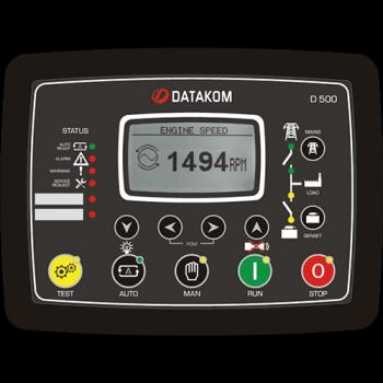 D-500-MK2 Контроллер для генератора (MPU + J1939)